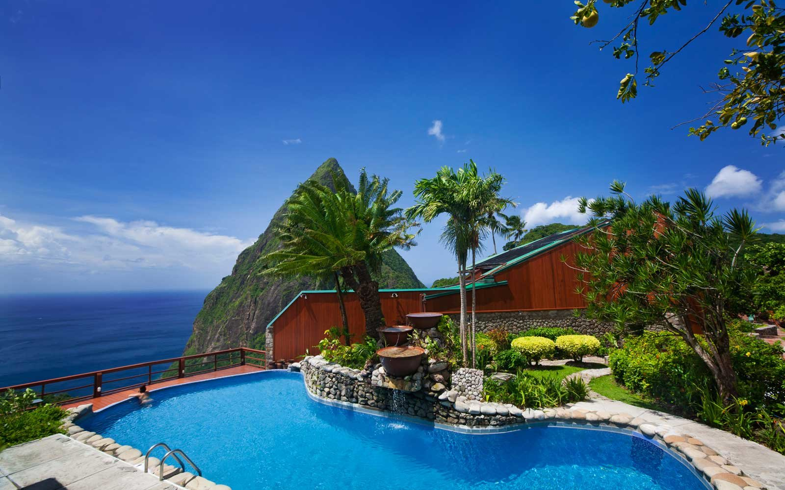 5. Ladera Resort in St. Lucia