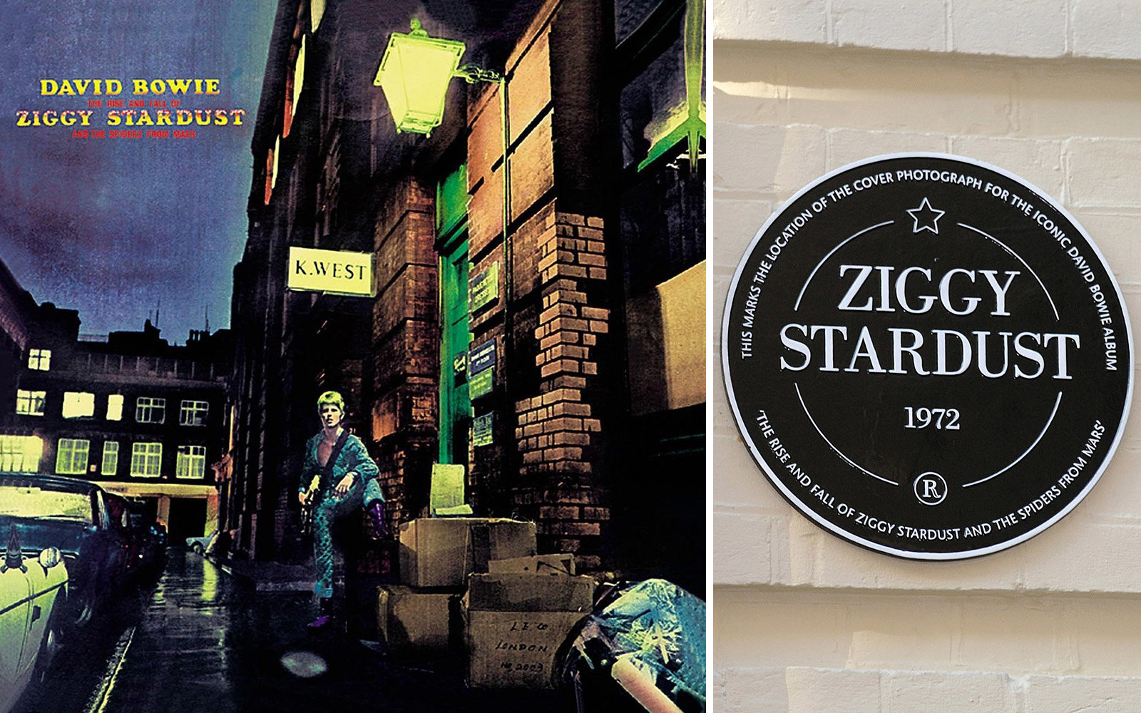 David Bowie travel guide to London and New York