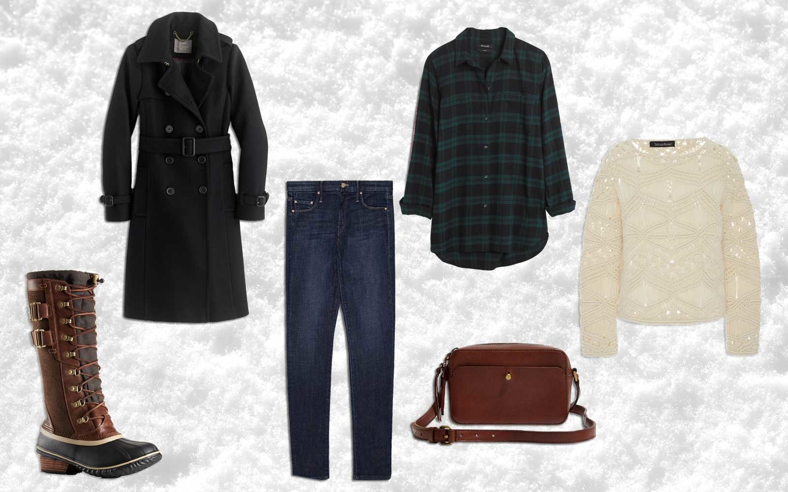 Stylish Winter Travel Outfits