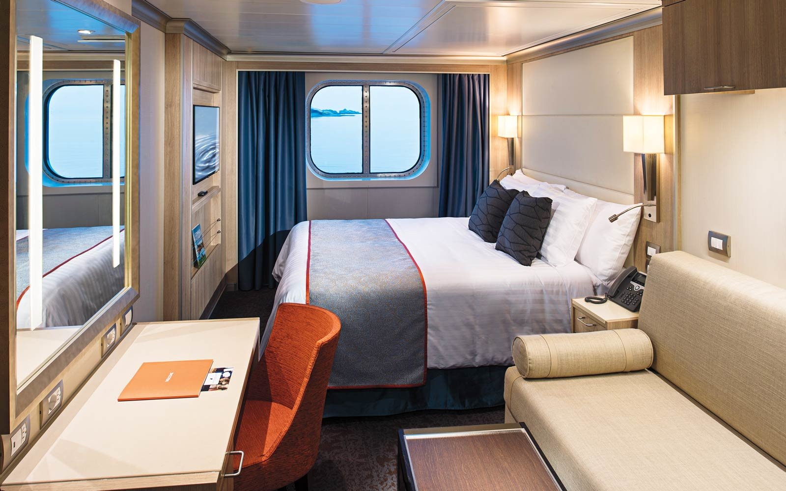 The Staterooms Are Made for Multigenerational Voyages