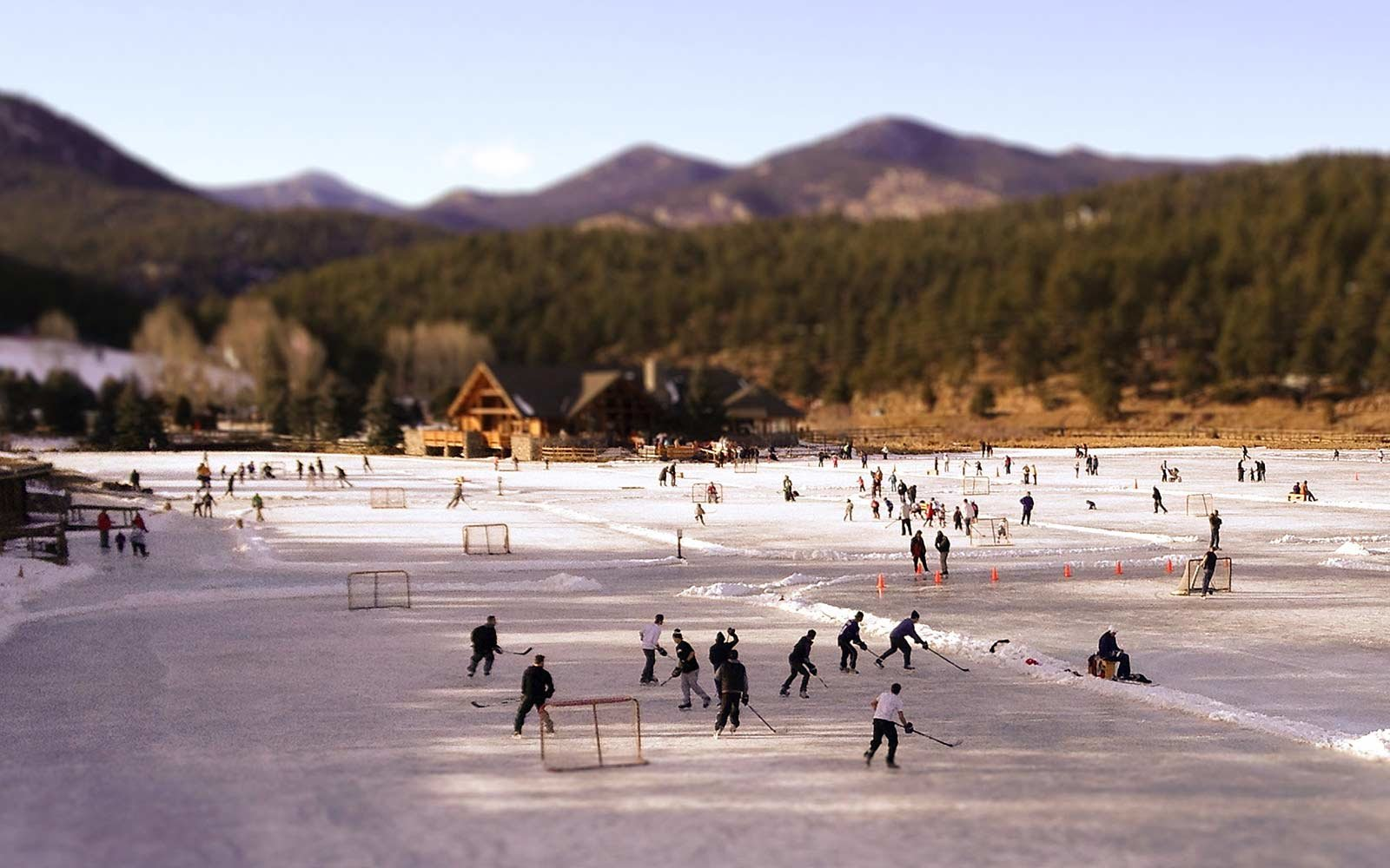 Natural Ice Rinks Around the World