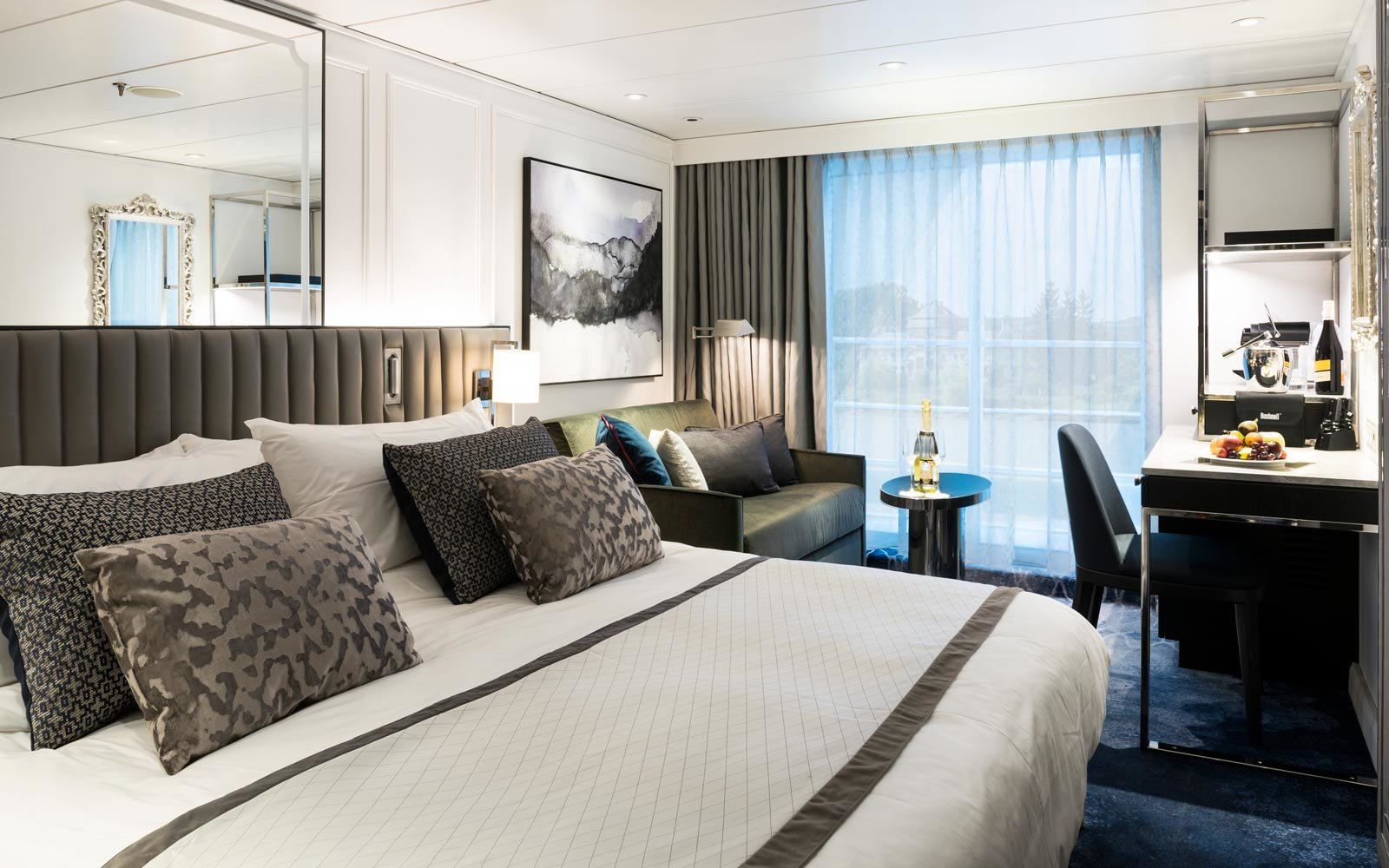 The Staterooms Are High-Tech