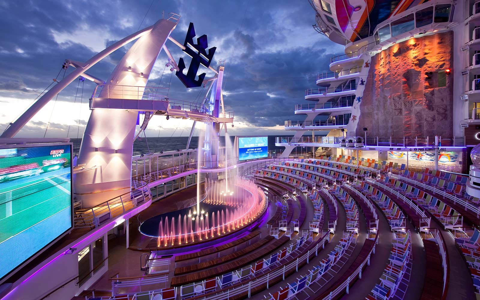 Zip Line Seat >> Five Things to Know About Royal Caribbean International's Allure of the Seas Cruise Ship ...