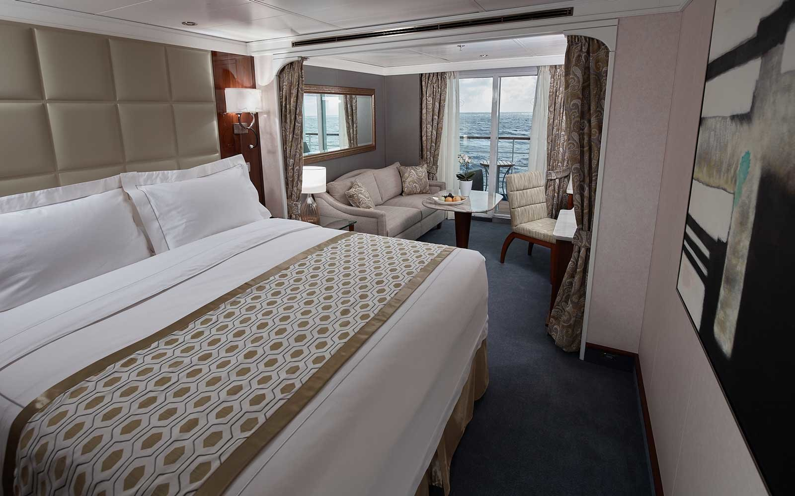 The Staterooms Are Spacious