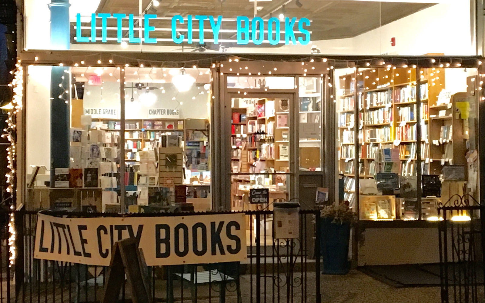 Little City Books, Hoboken, New Jersey