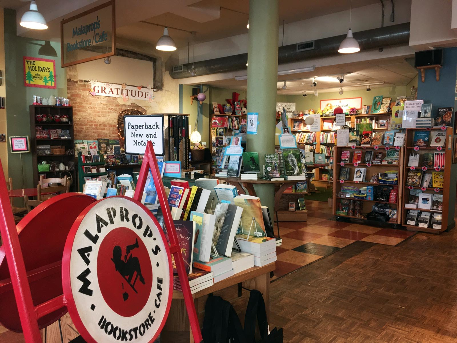 Malaprop's Bookstore & Café,   Asheville,   North Carolina