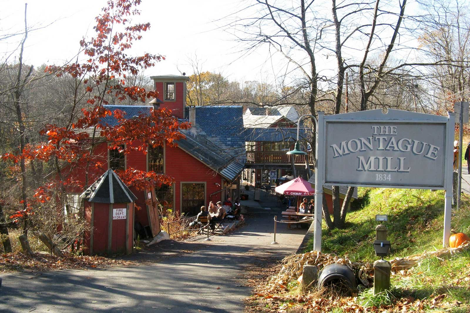 Montague Bookmill,   Montague,   Massachusetts