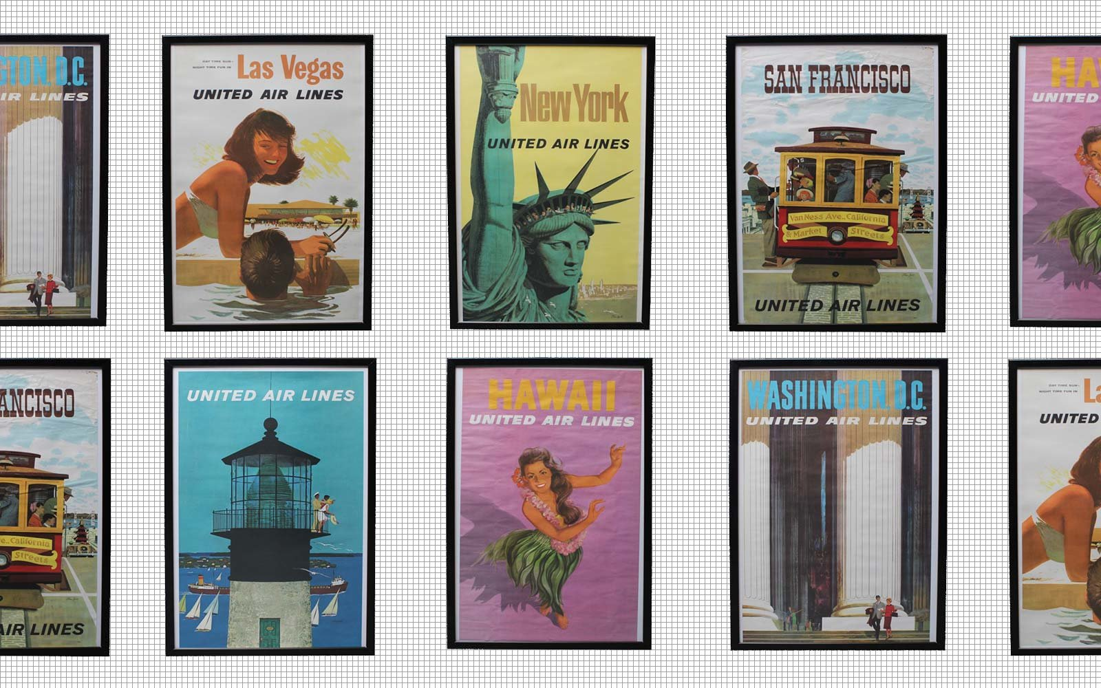 Vintage travel posters at auction