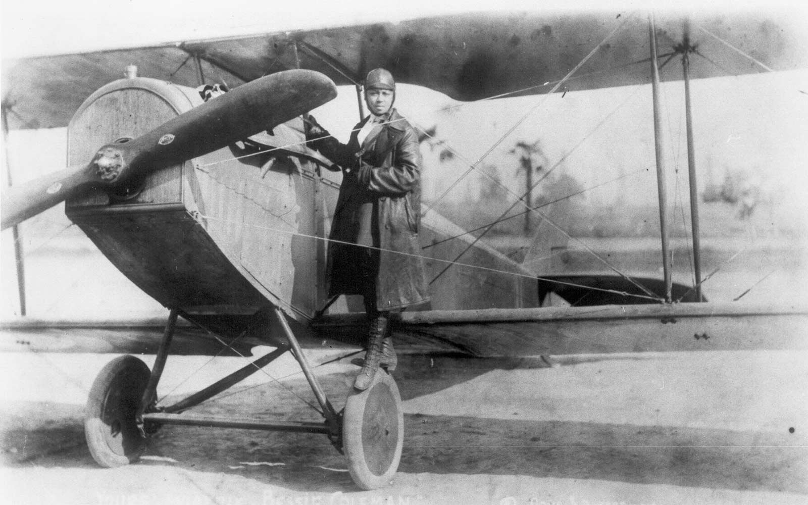 First Female African American Pilot Bessie Coleman Honored