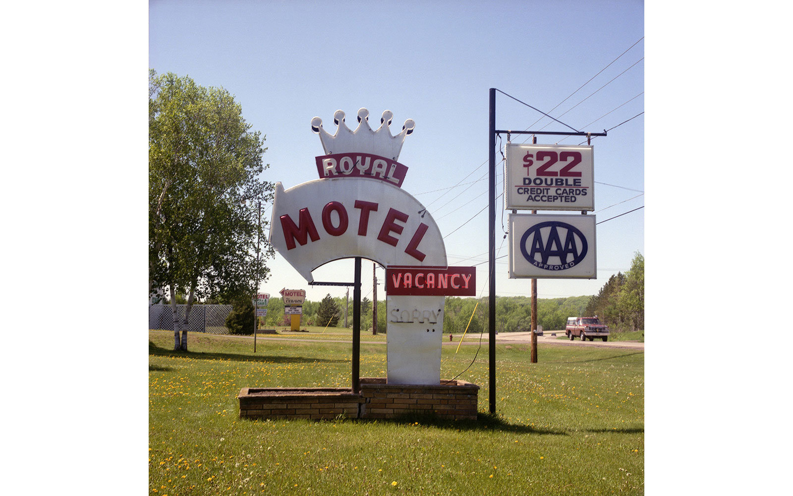 American Motel Signs