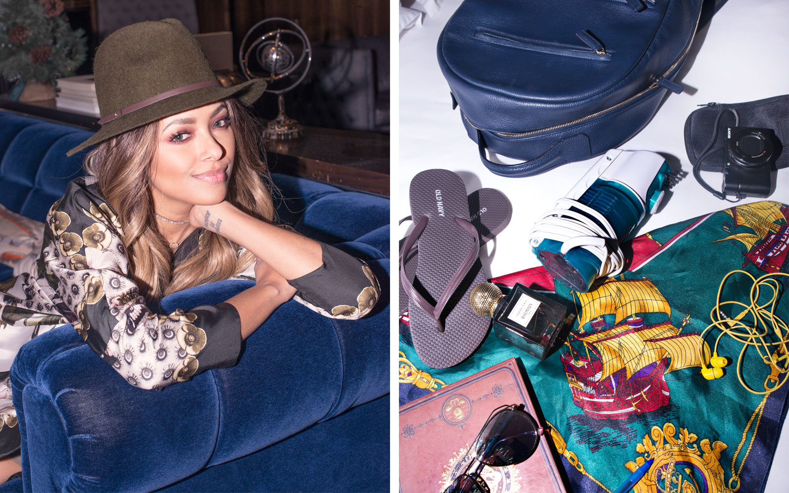 T + L Carry On with Kat Graham