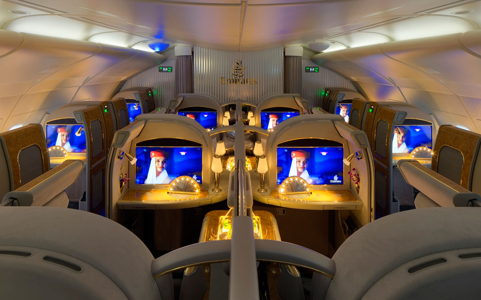 emirates a380 first class seats