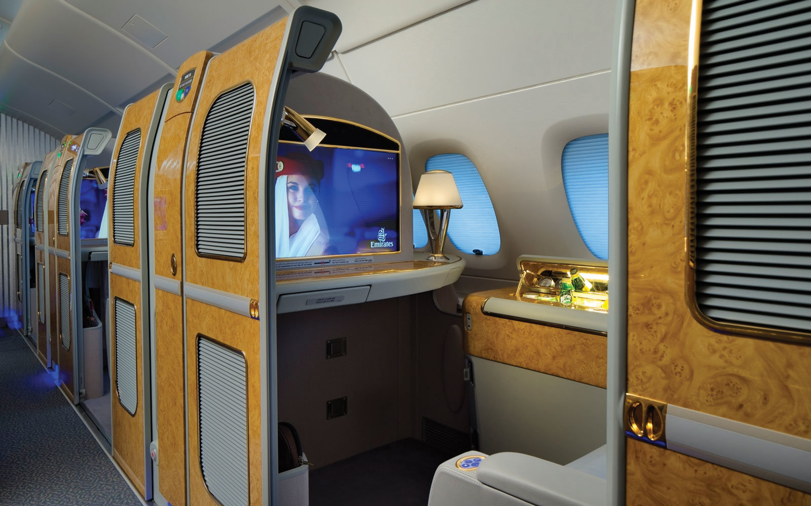 emirates first class suite photos