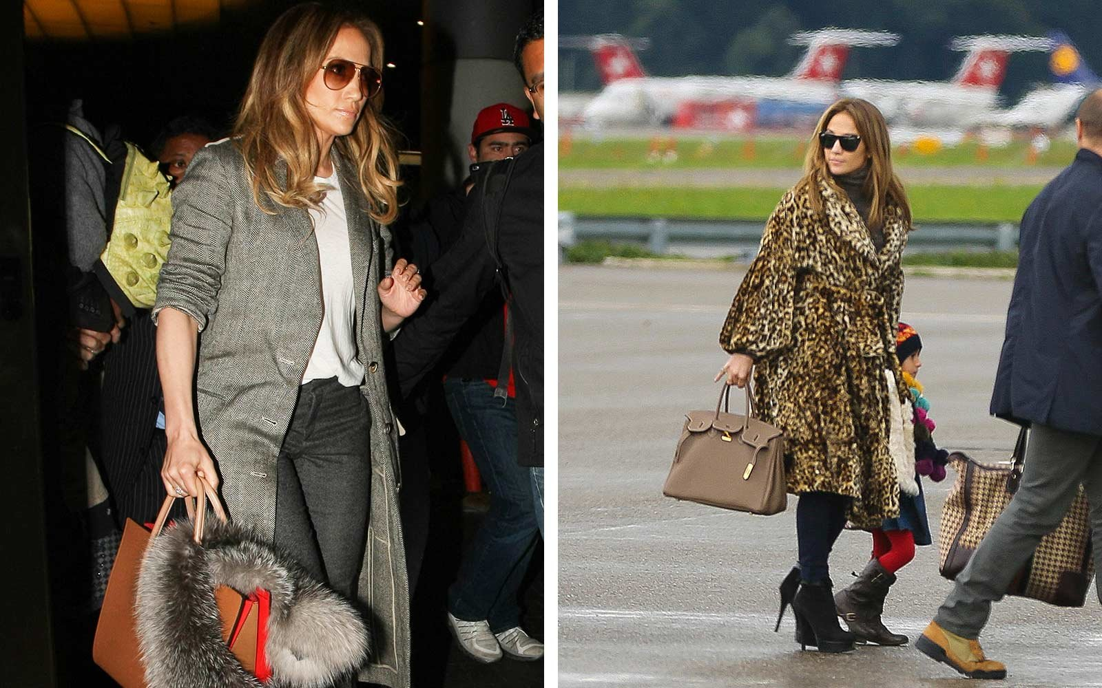 Jennifer Lopez's tips for air travel