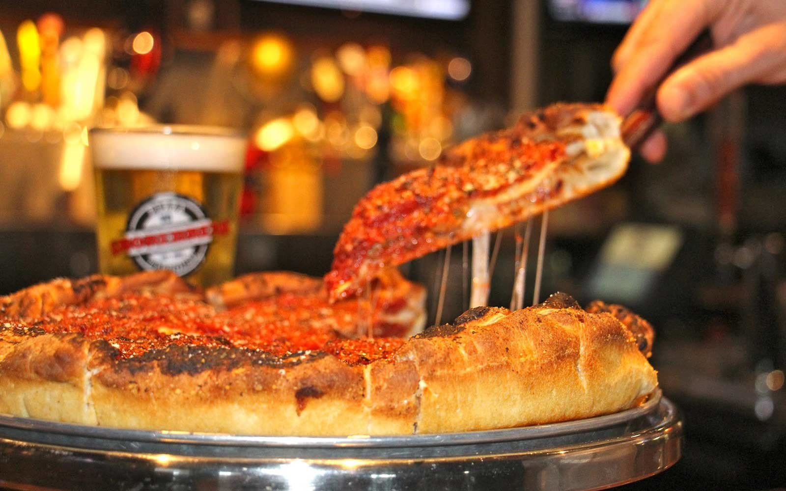 America's Favorite Cities for Pizza