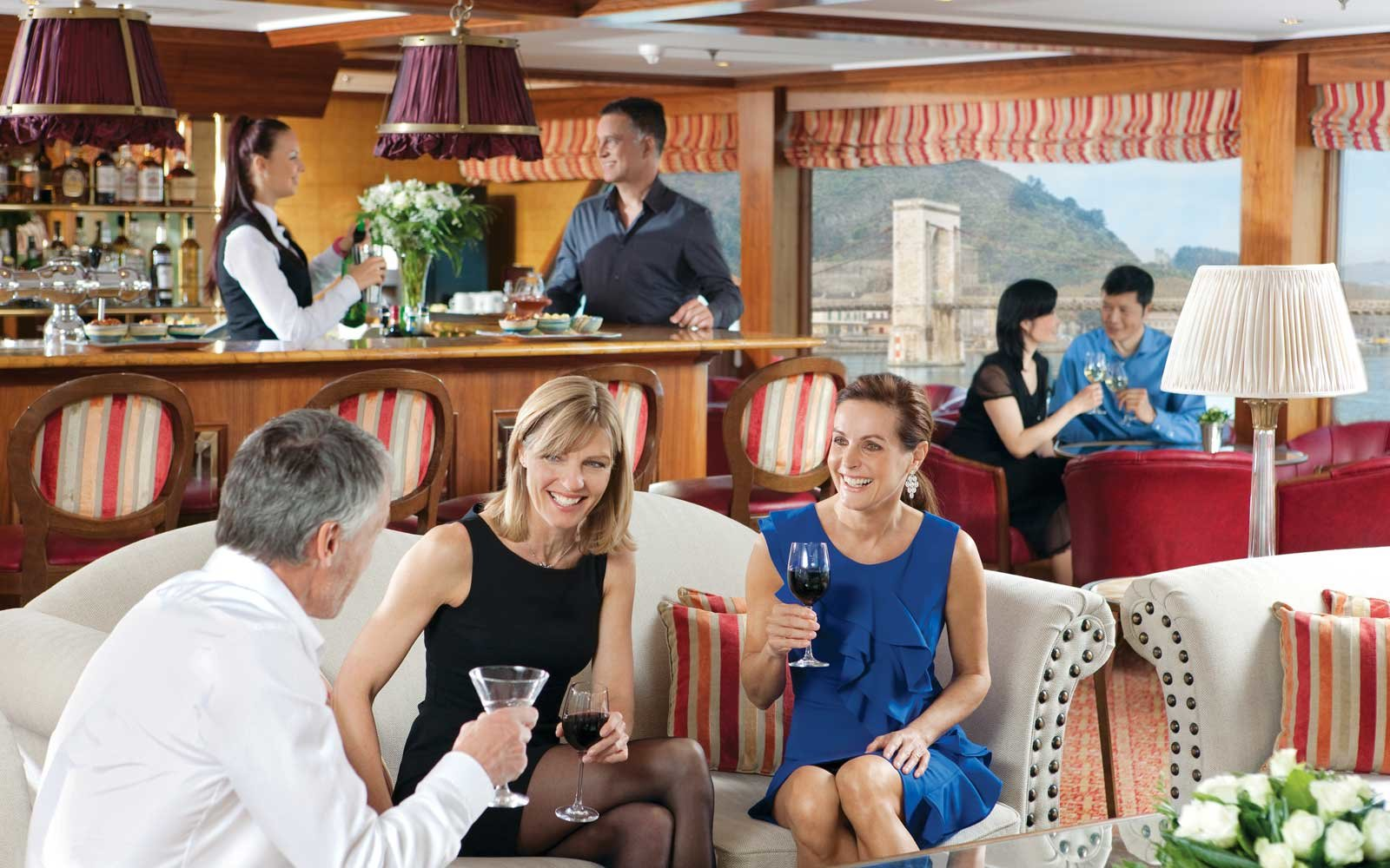 There Are Wine Tastings Onboard