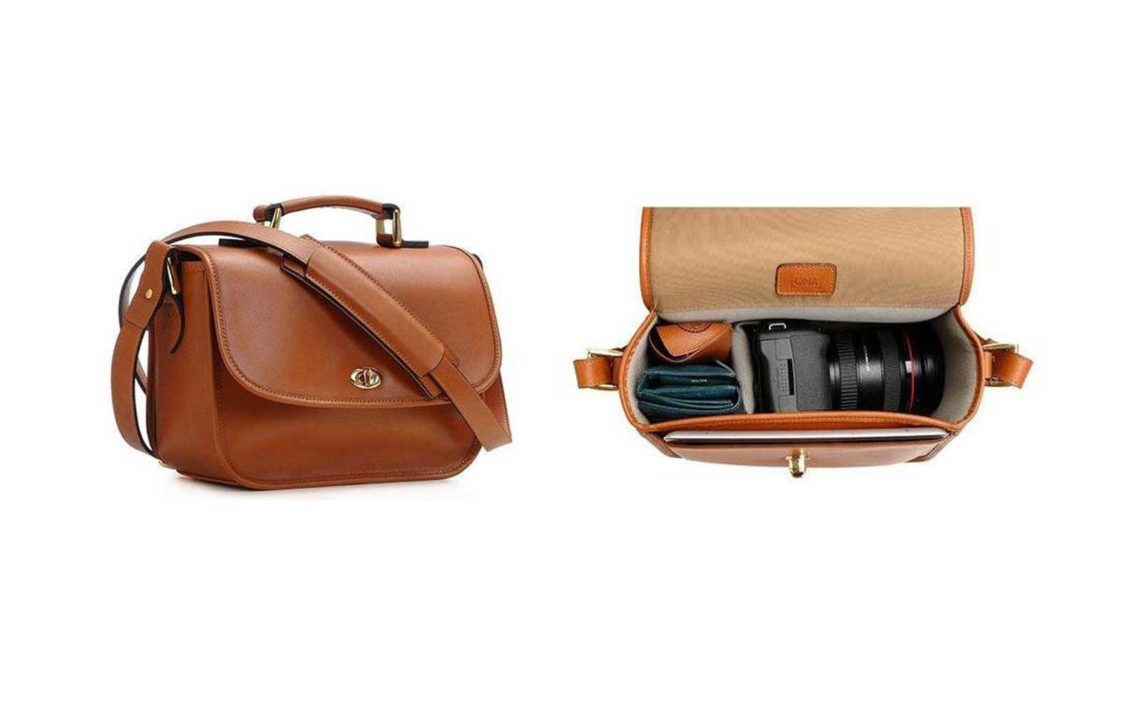 5dbb90b2cf79 14 Chic Camera Bags You ll Want to Bring Everywhere