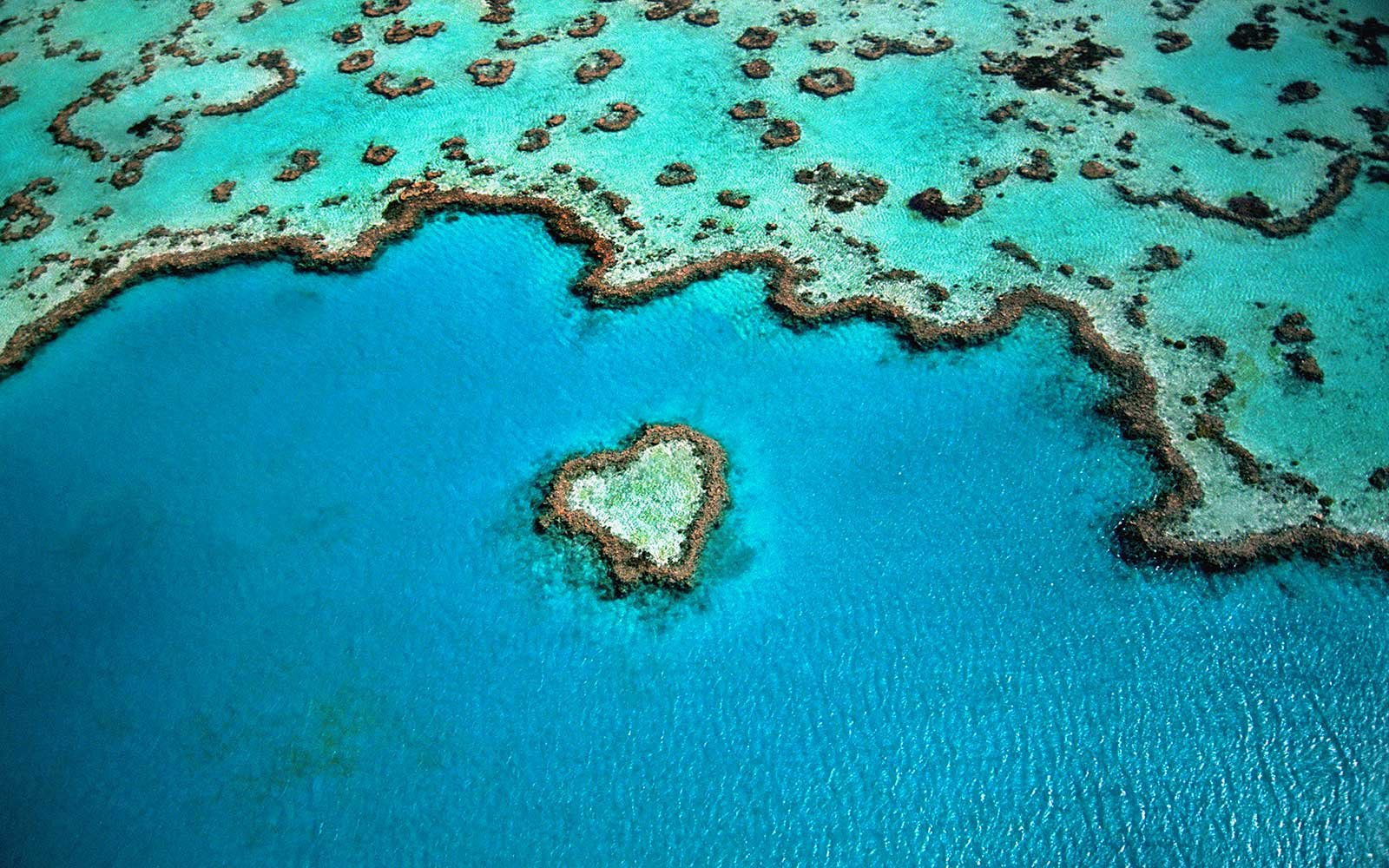 Heart shaped natural wonders around the world