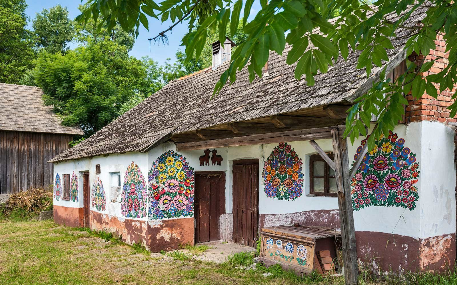 This Polish Village Has Been Covered In Flower Paintings