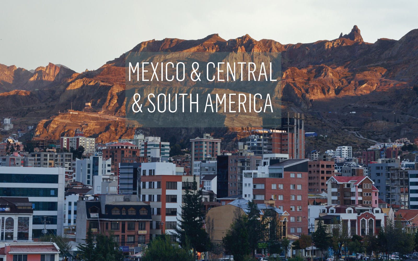 Mexico and Central and South America, La Paz, Bolivia