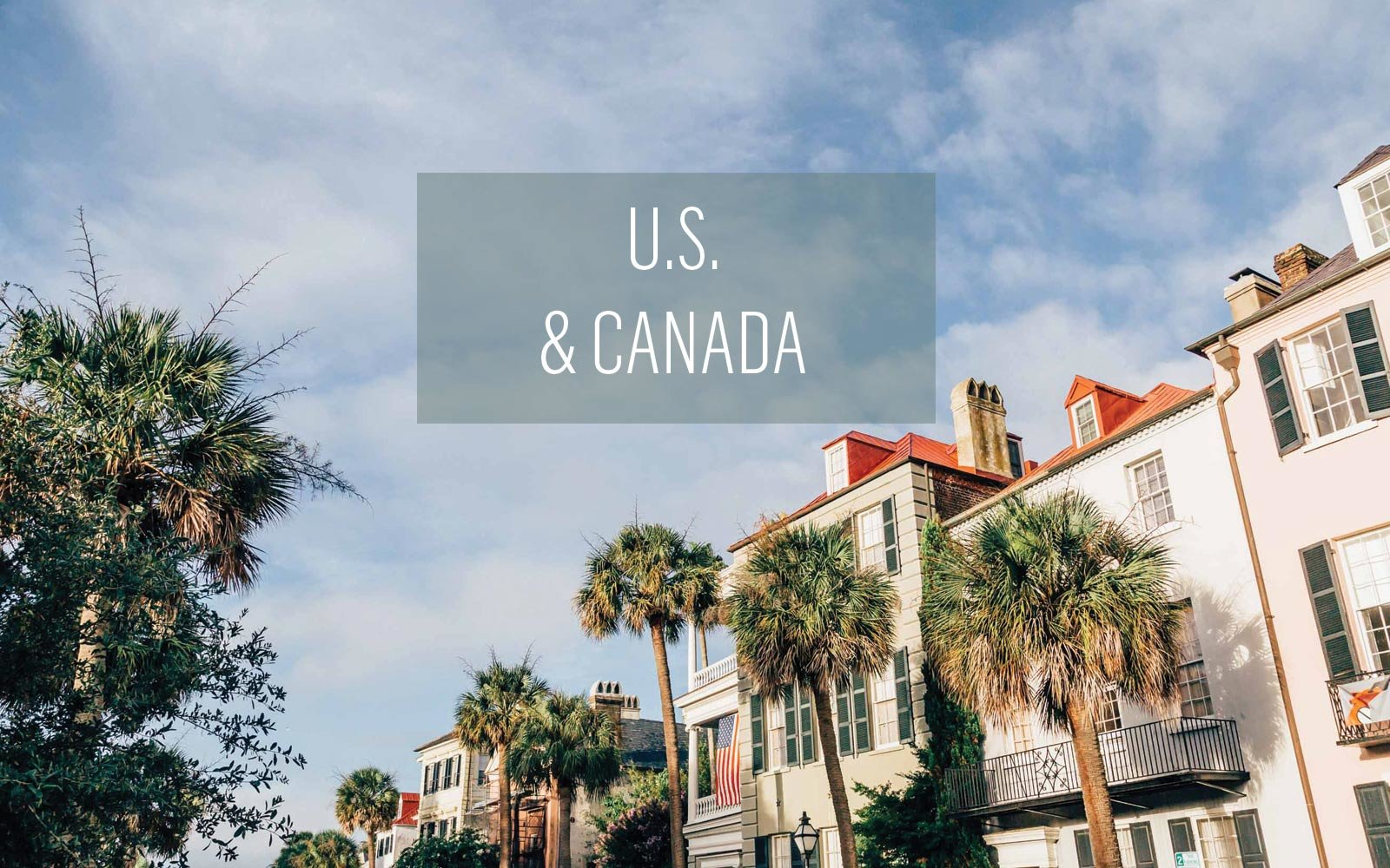 U.S. and Canada, Charleston, South Carolina