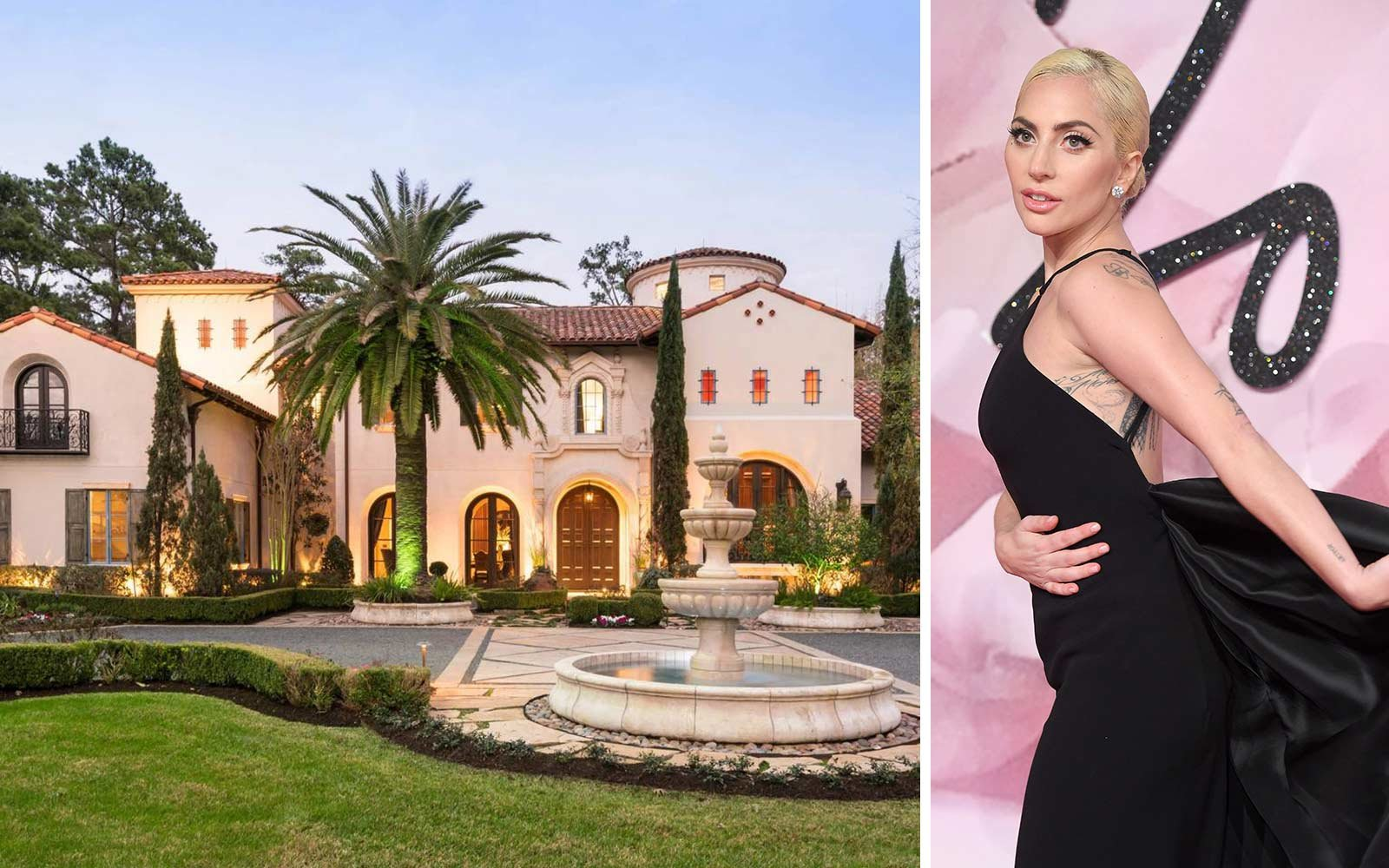 The Houston mansion where Lady Gaga stayed