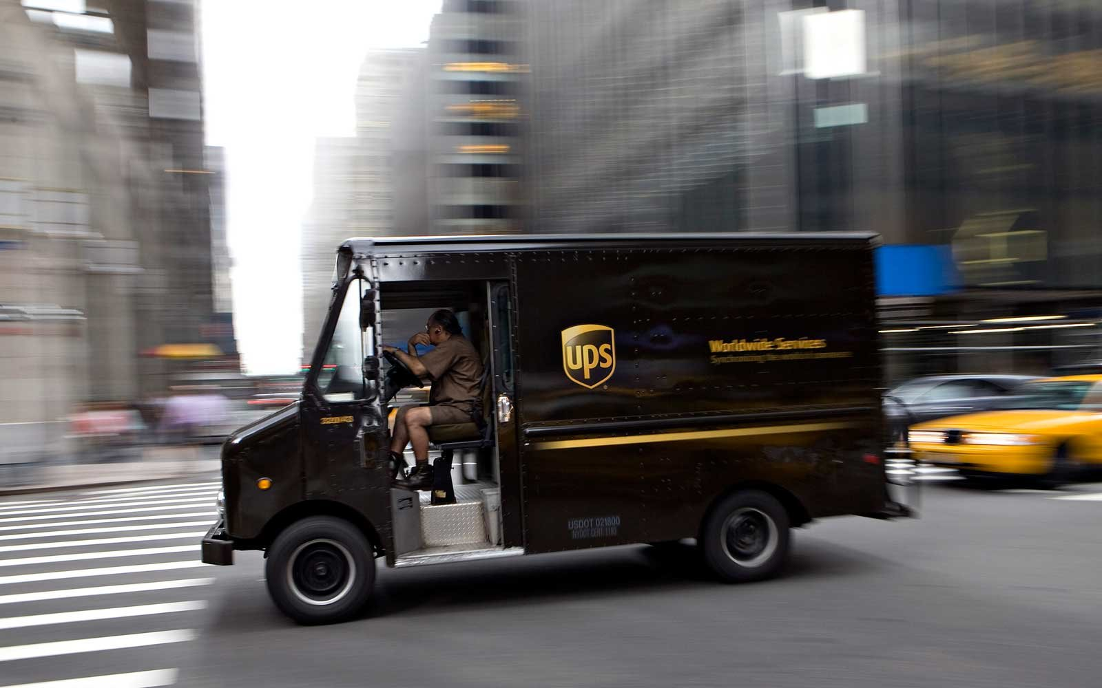 UPS Trucks Don't Turn Left and Neither Should You (Video)