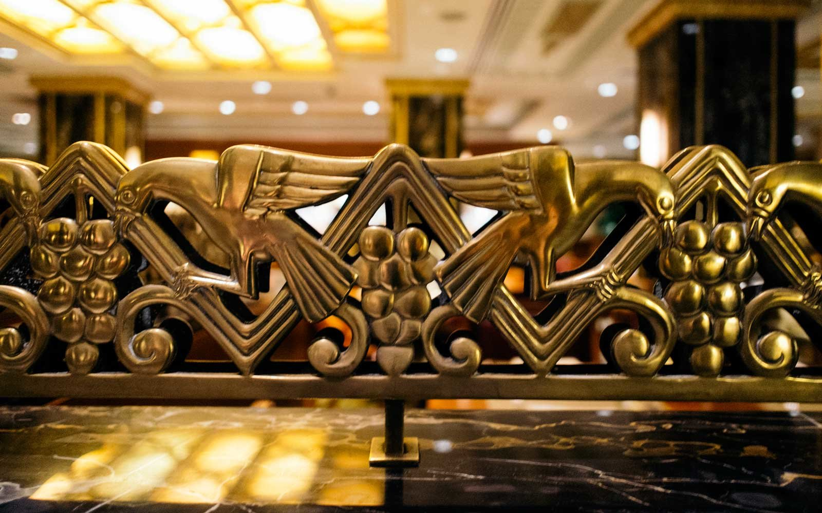 Inside The Waldorf Astoria Design