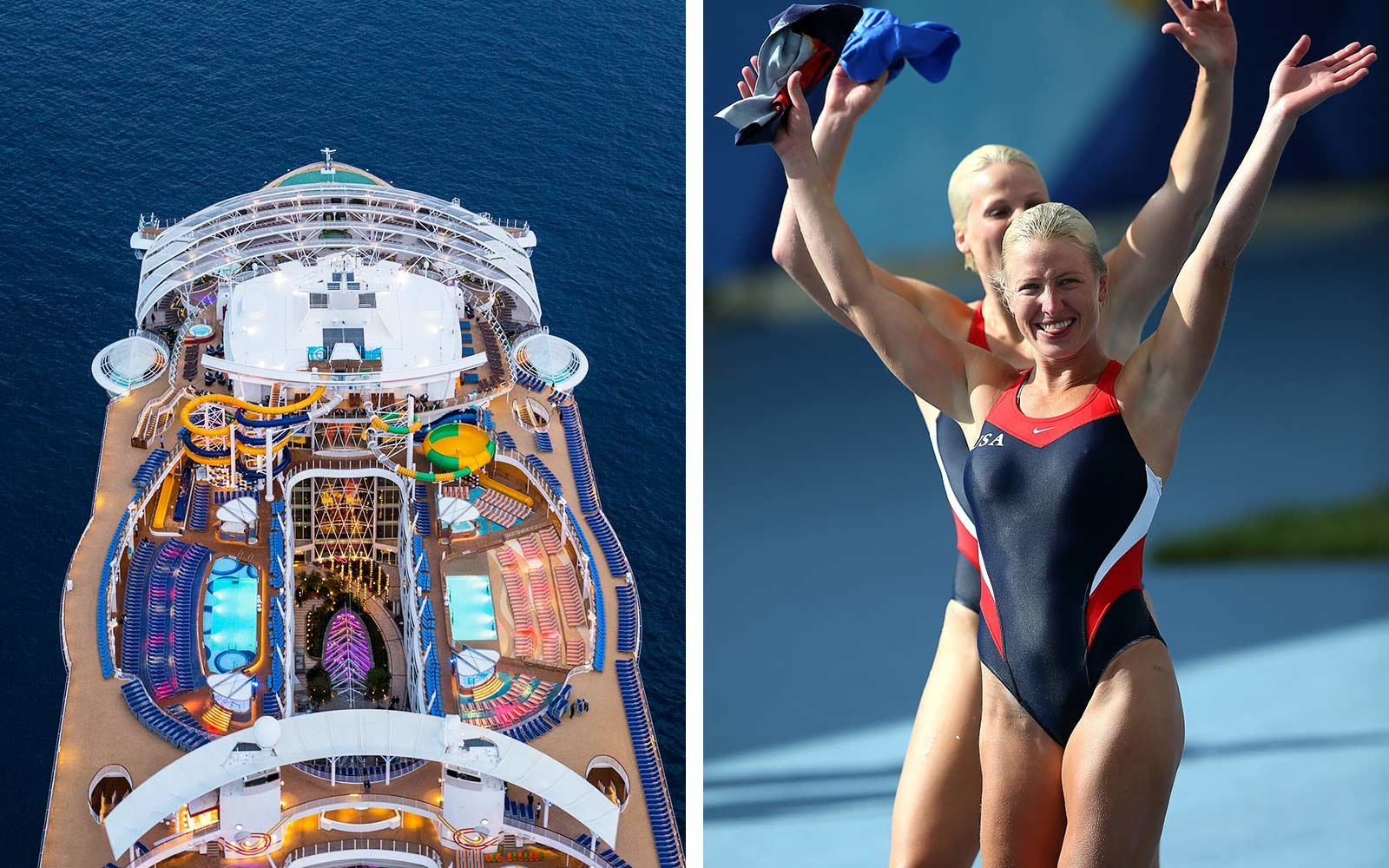 Diving on cruise ship
