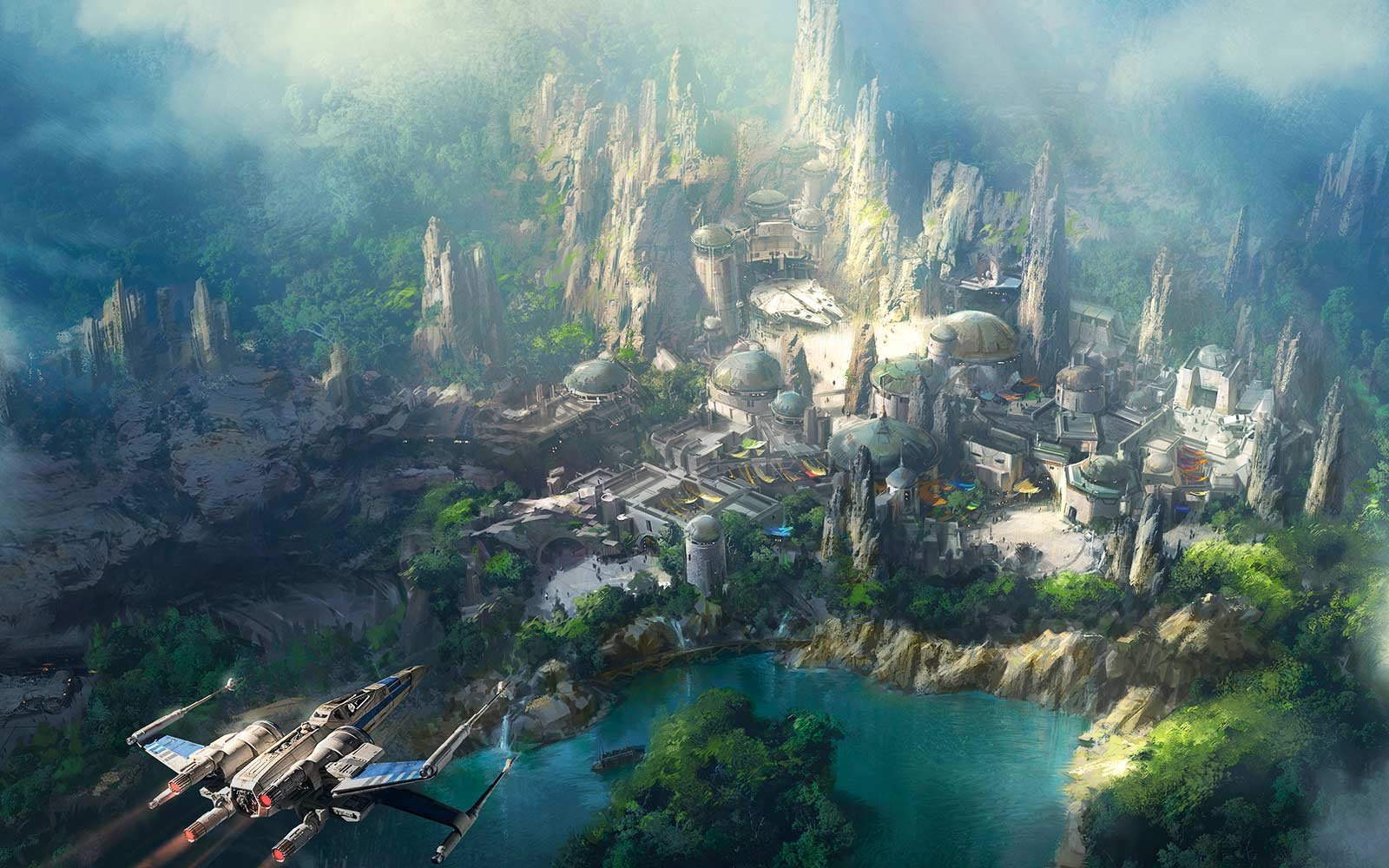 Star Wars land will open in 2019