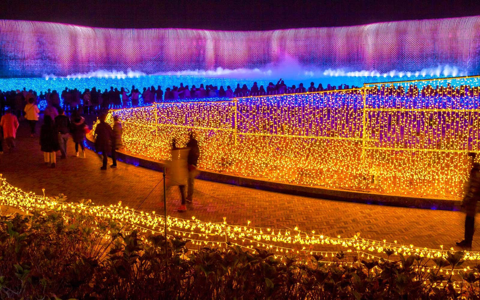 Japanese light festival