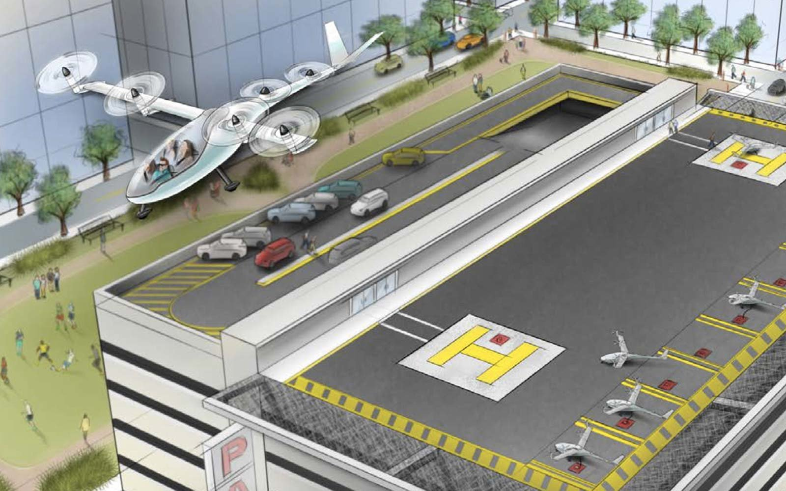 Uber's Flying Car Will Have a Hard Time Getting Off the Ground