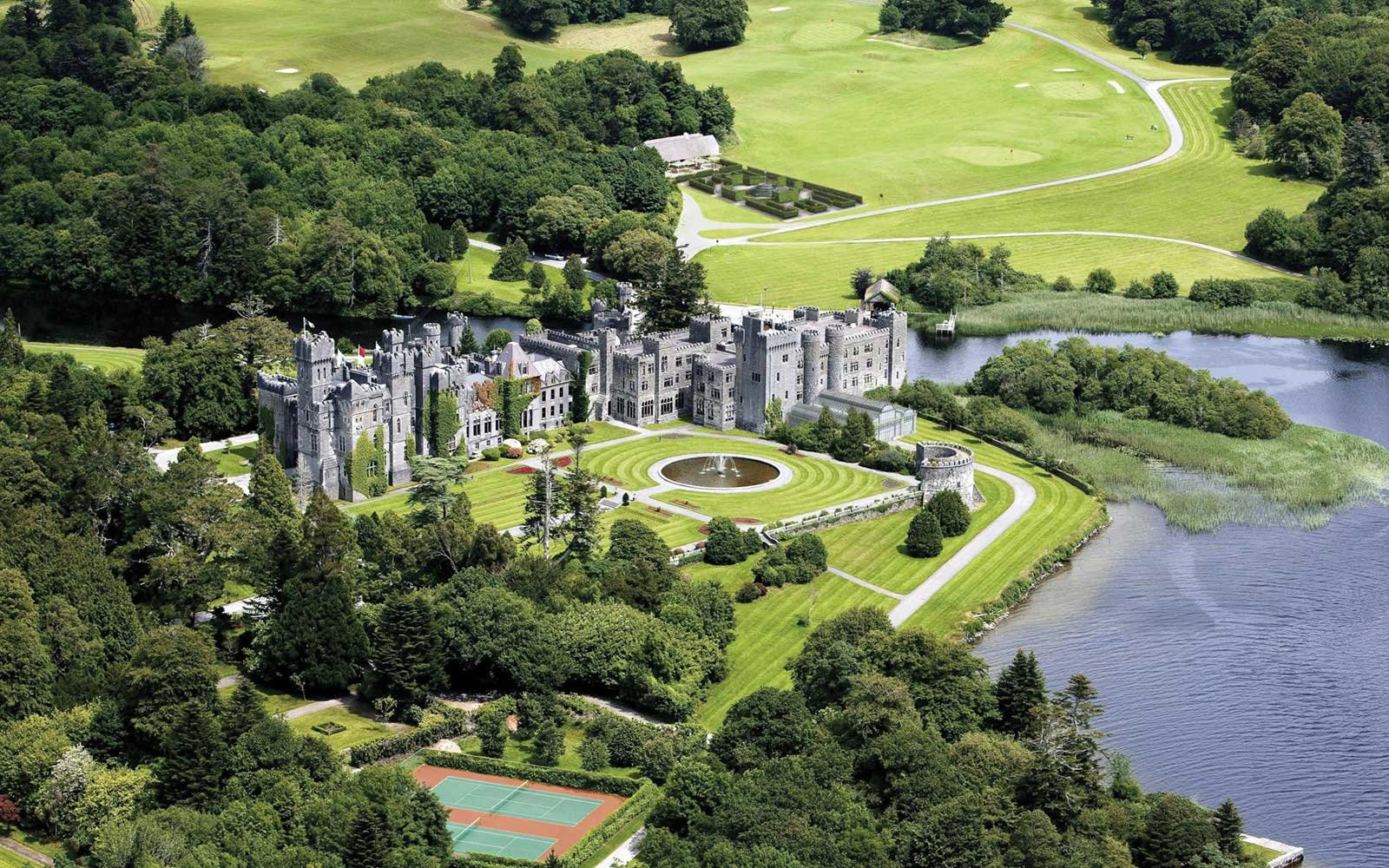 Ashford Castle, County Mayo, Ireland