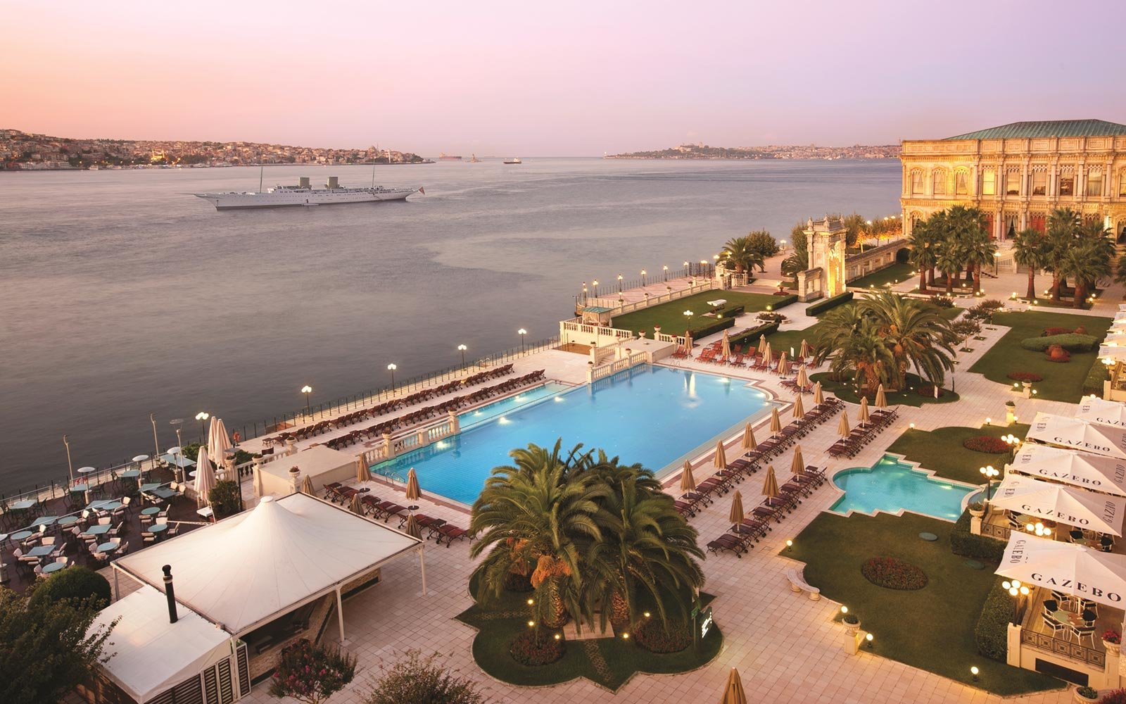 No. 14: Ciragan Palace Kempinski in Istanbul, Turkey