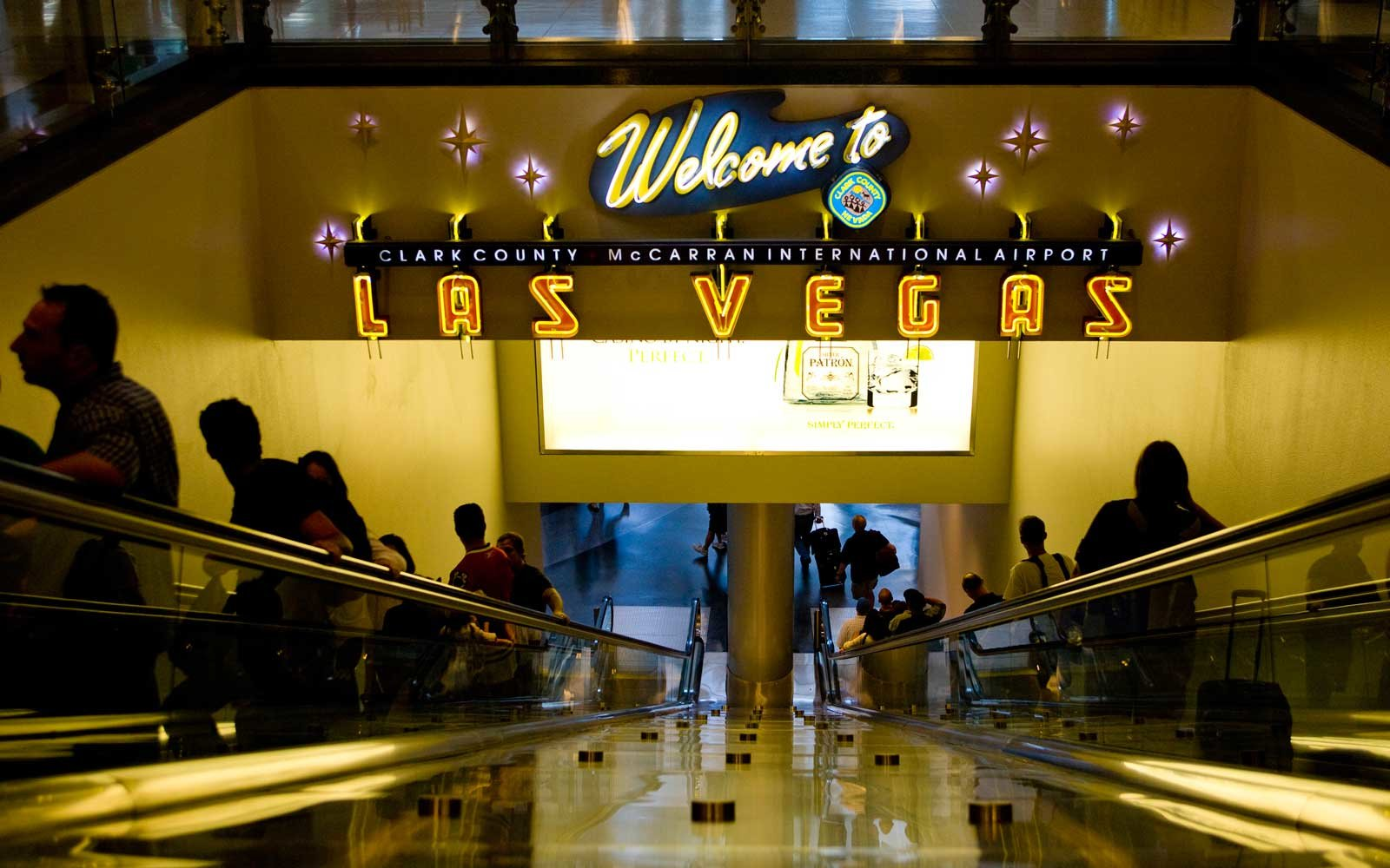 There\'s a Secret Bedroom at the Las Vegas Airport | Travel + Leisure