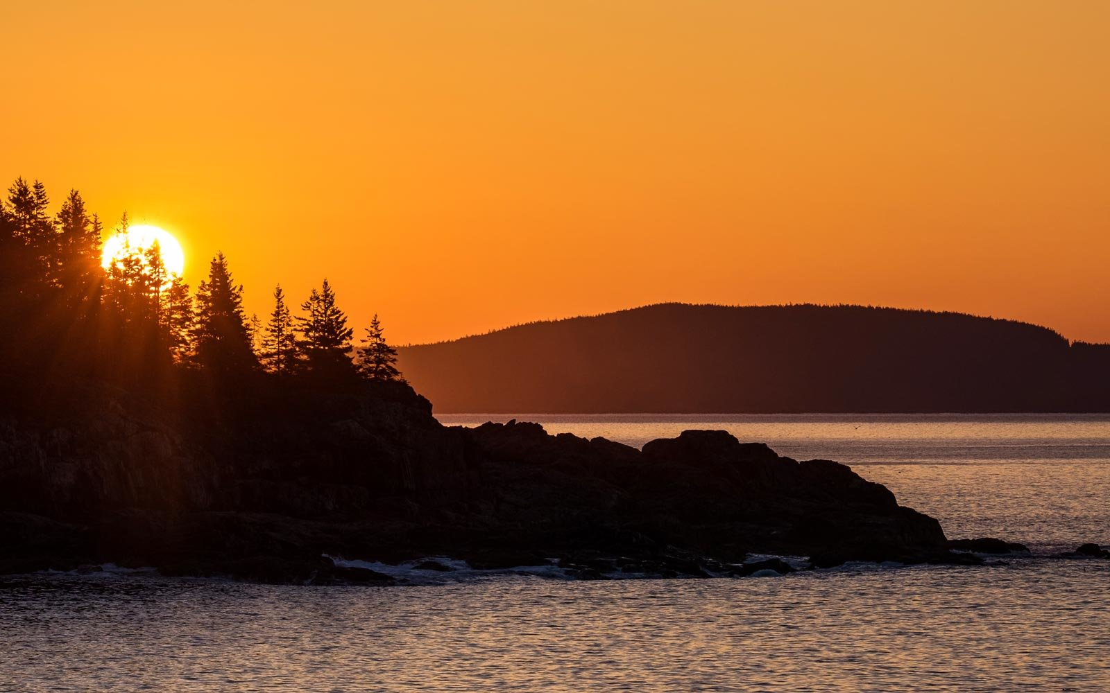 The Schoodic Peninsula in Acadia National Park