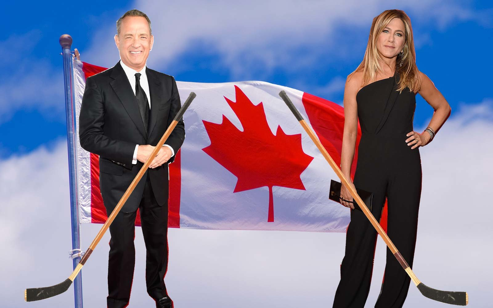 Canada wants to vacation with Tom Hanks and Jennifer Aniston