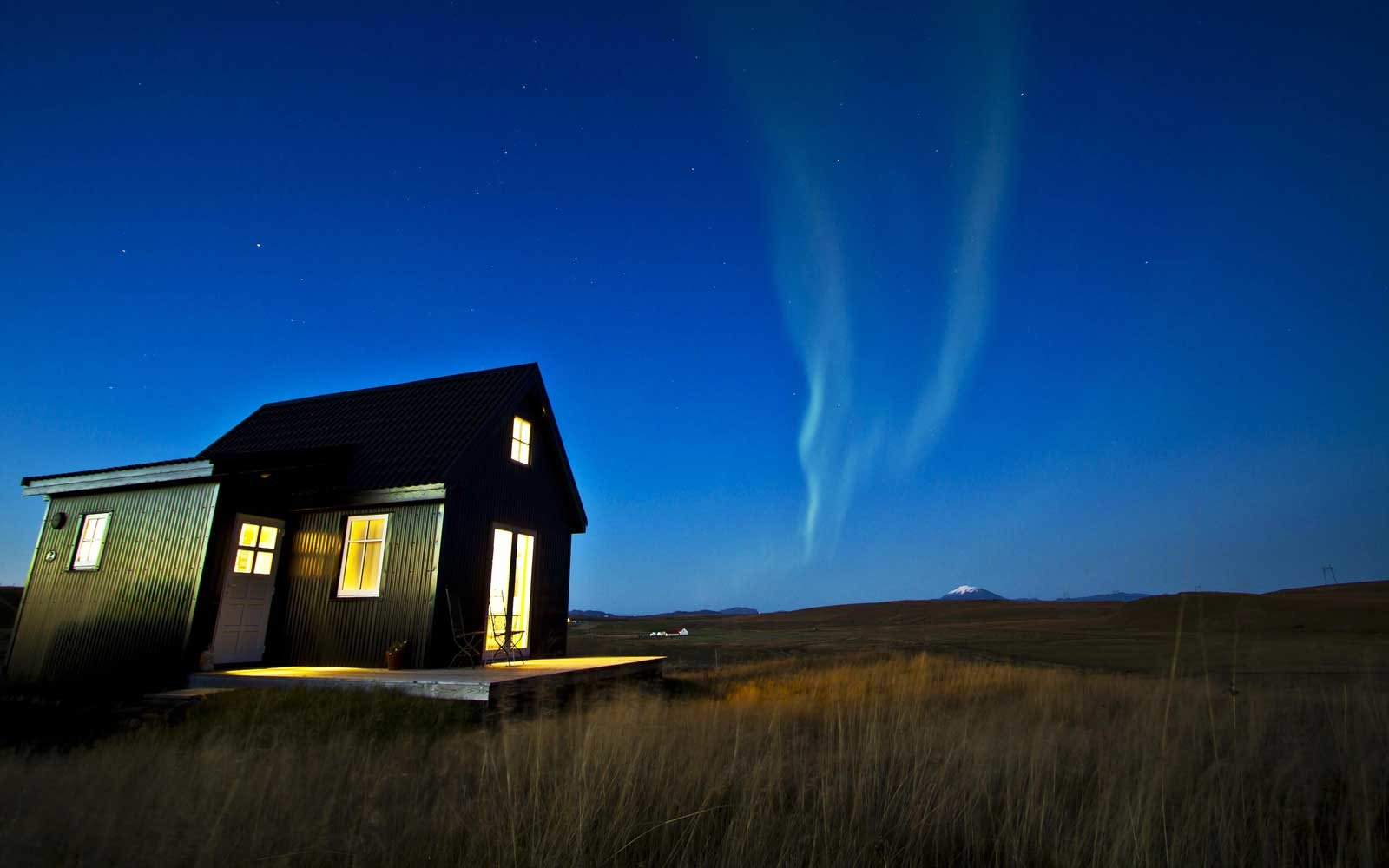 This Tiny Cabin In Iceland Might Be The Best Place To Watch The Northern Lights Travel Leisure