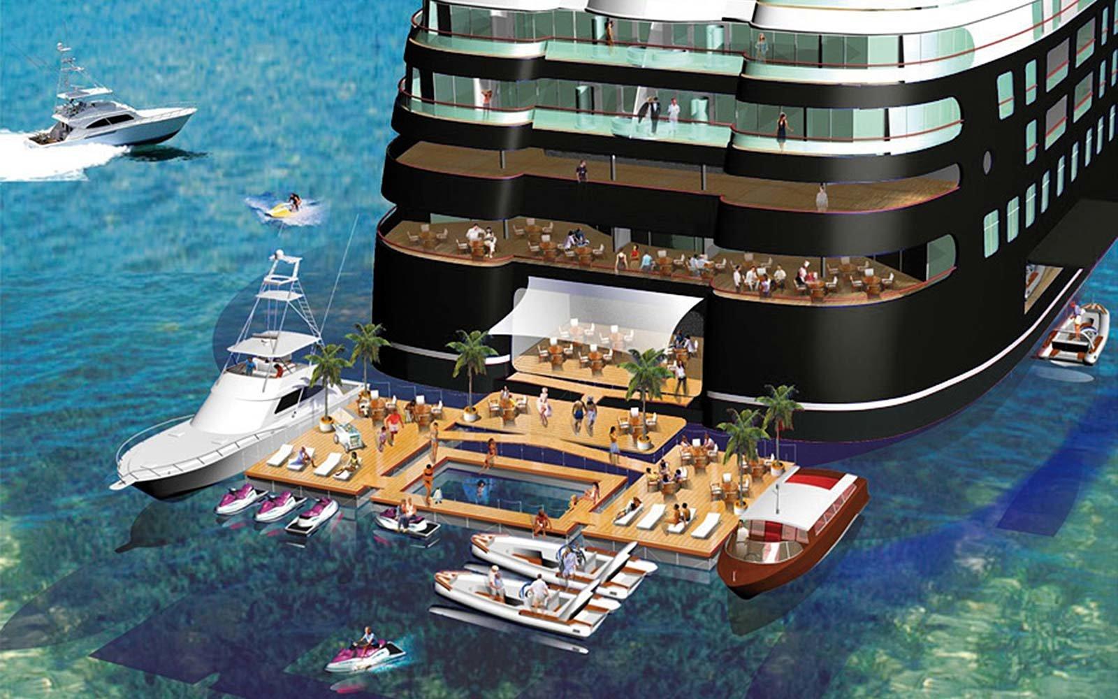 World's largest superyacht Quintessentially One