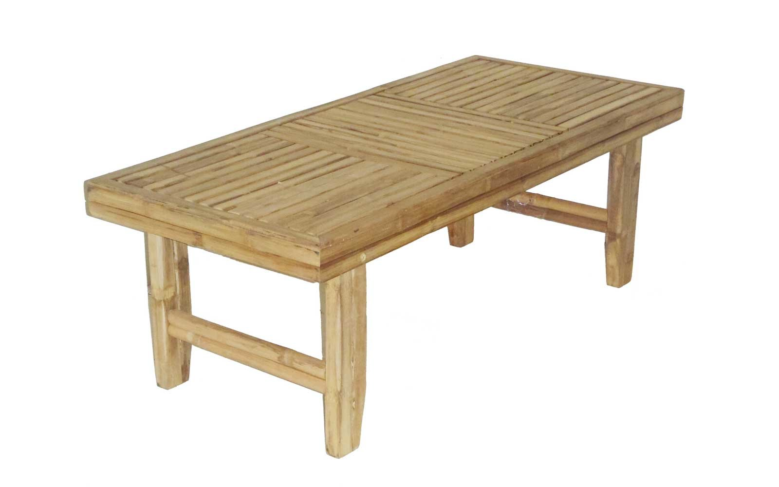 Natural Bamboo Coffee Table