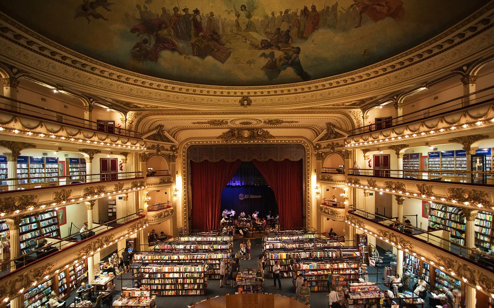 El Ateneo Grand Splendid Bookstore in Argentina