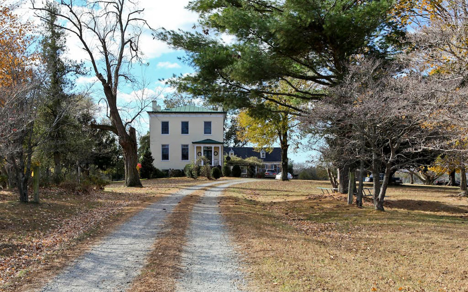 Rent a home where George Washington used to spend the night.