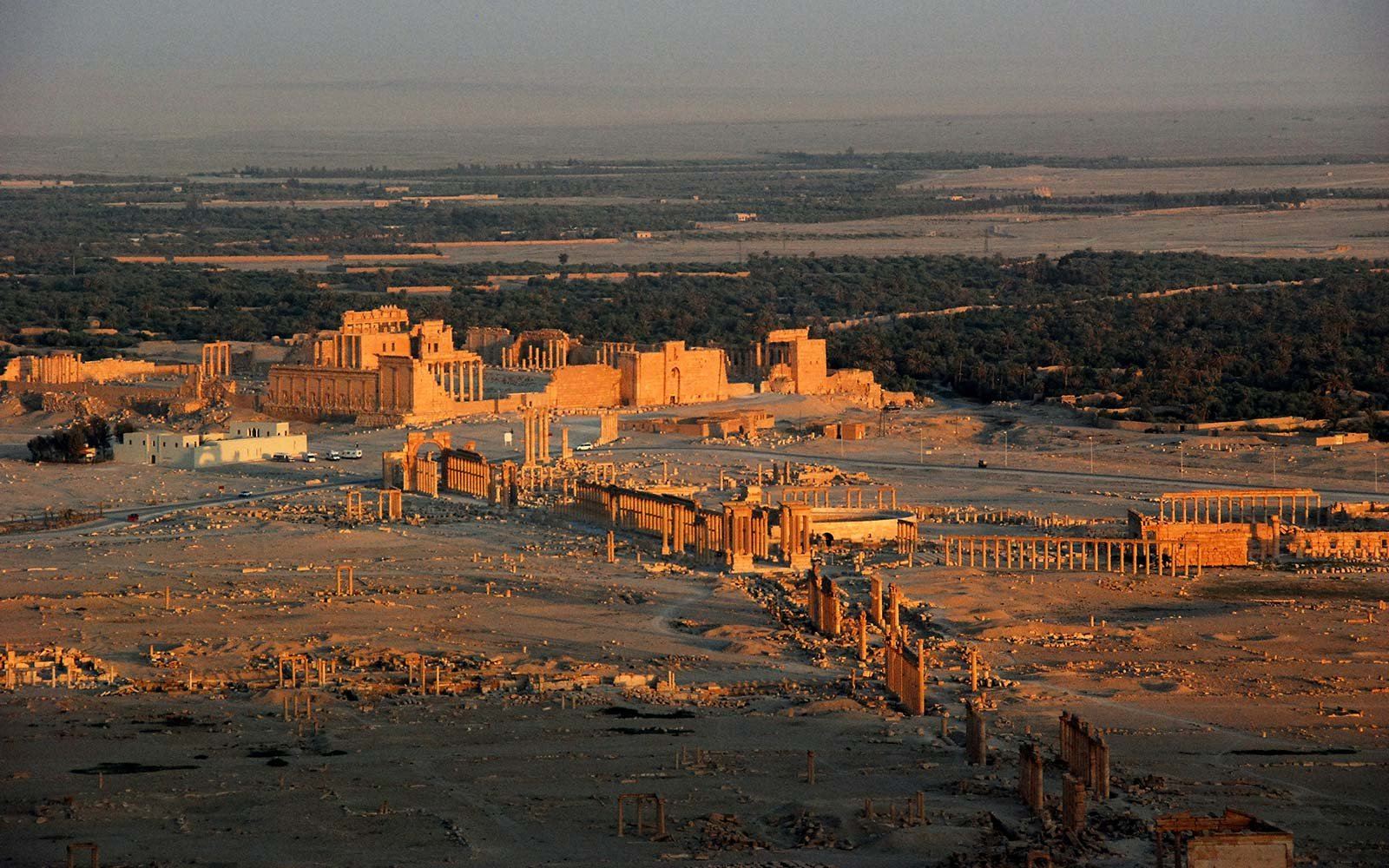 Once a Beloved Archeological and Tourist Site, Palmyra Is Now a Battlefield
