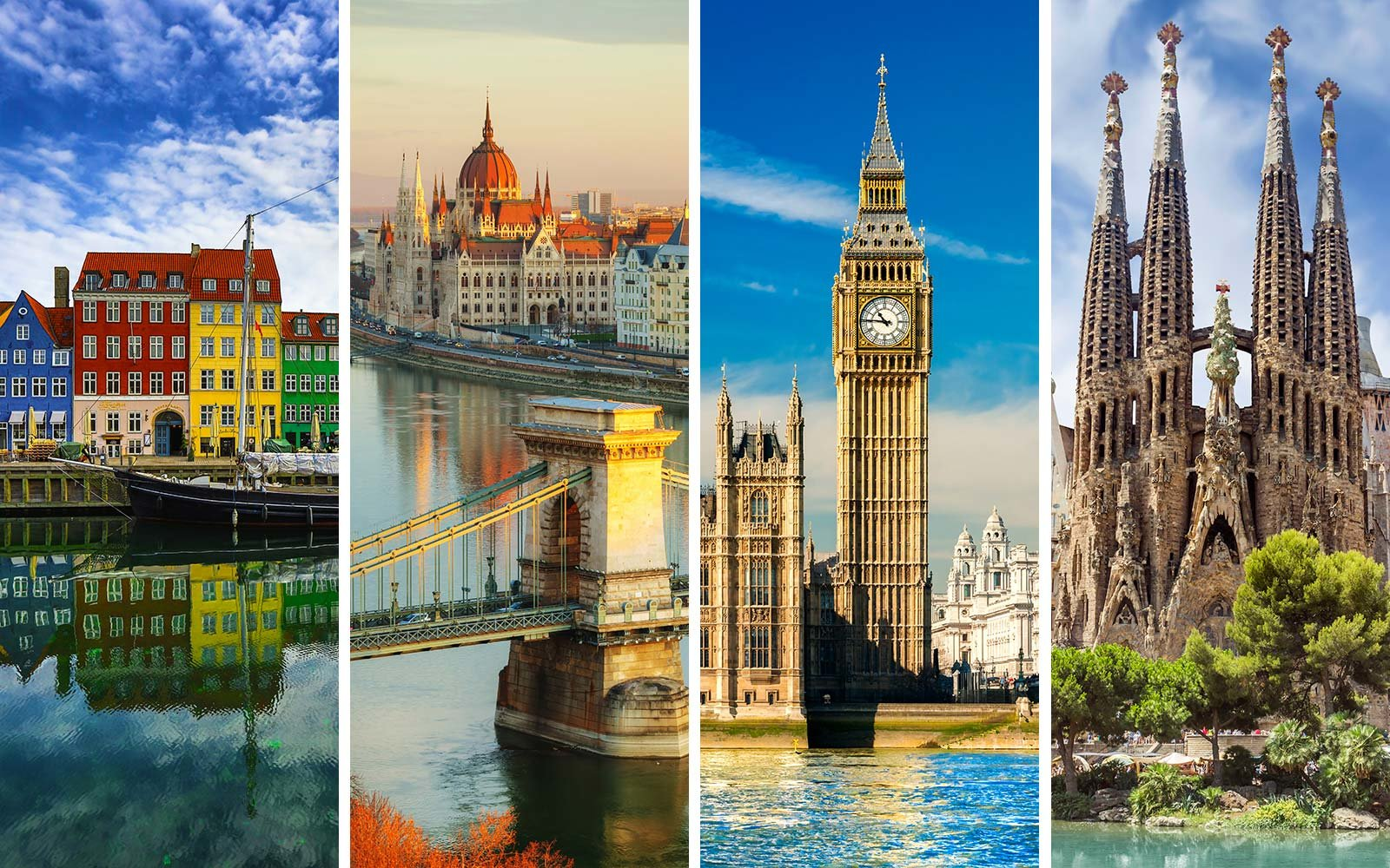 European Vacation Package Tour