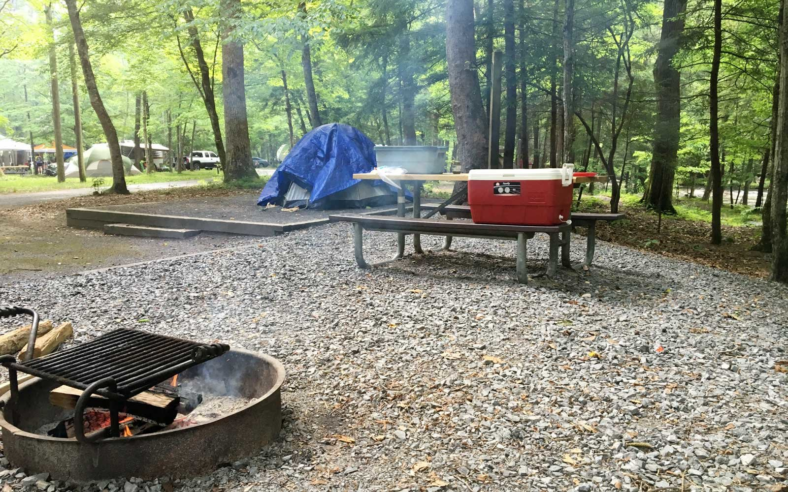 Arizona campgrounds with full hookups in georgia