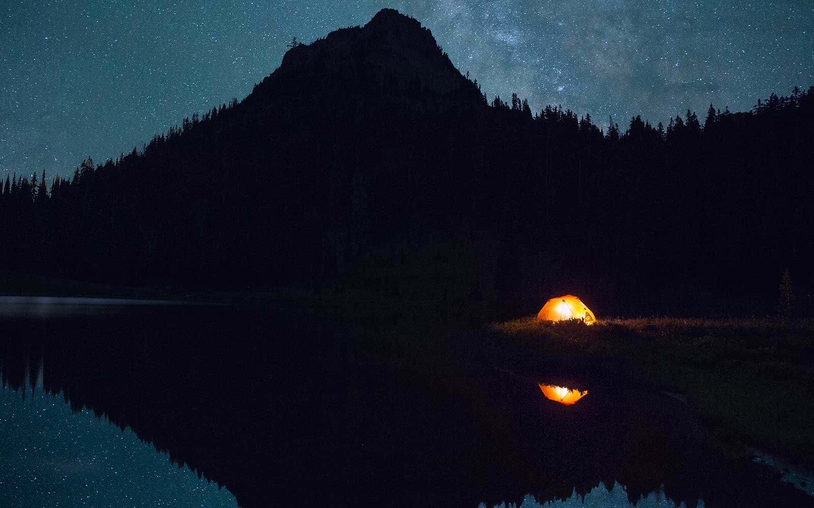 Tent Under the Stars