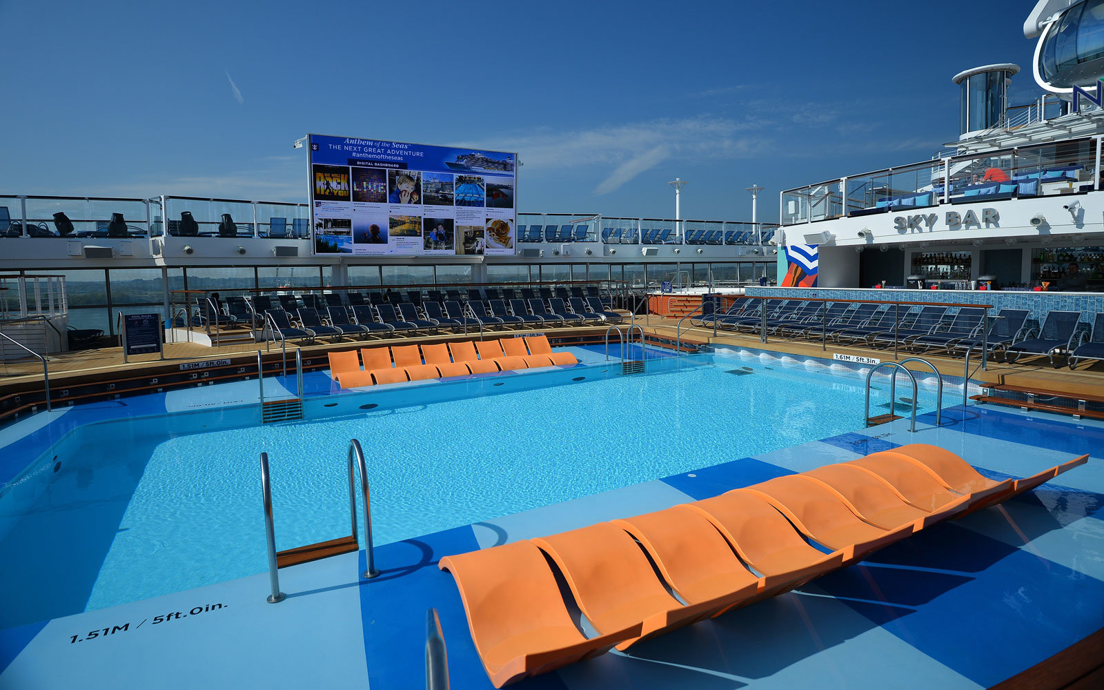 Royal Caribbean is adding lifeguards to its pools.