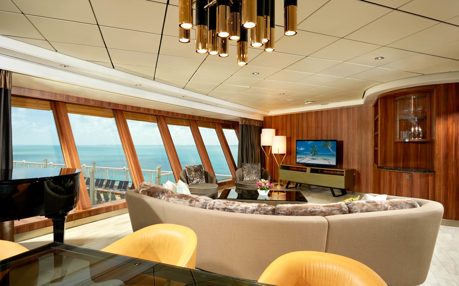 You'll Find Some of the Largest Suites at Sea