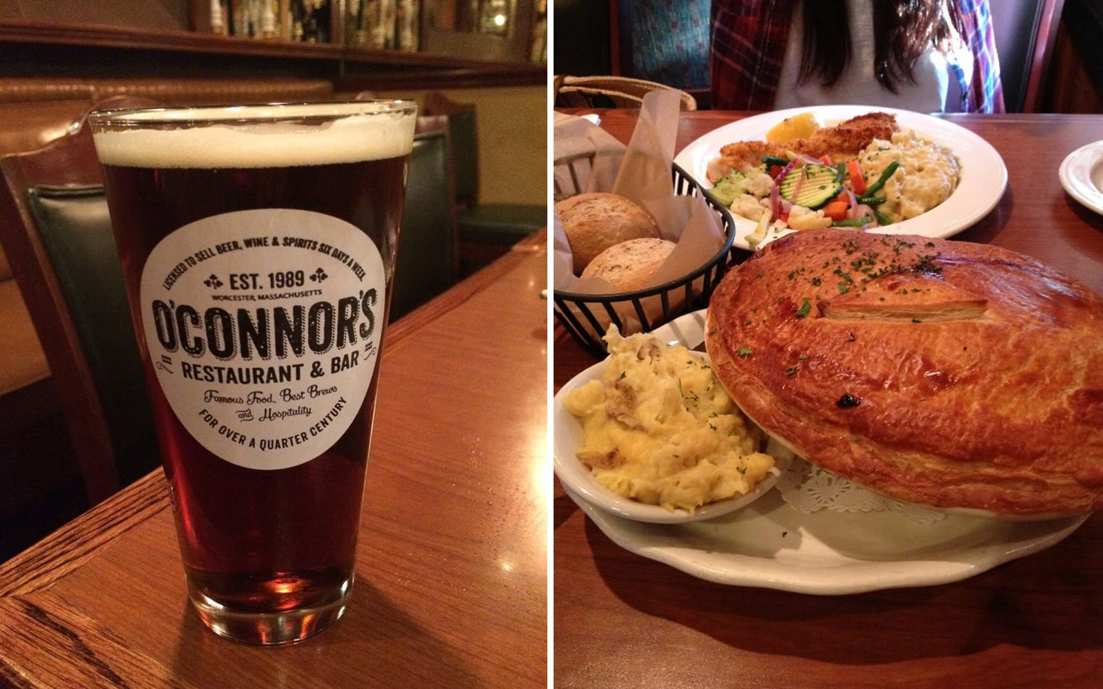O'Connor's Restaurant & Bar, Worcester, Massachusetts
