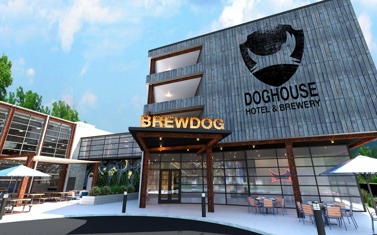 This Beer Hotel In Columbus Will Have An Ipa Filled Hot Tub And A Minibar The Shower Travel Leisure
